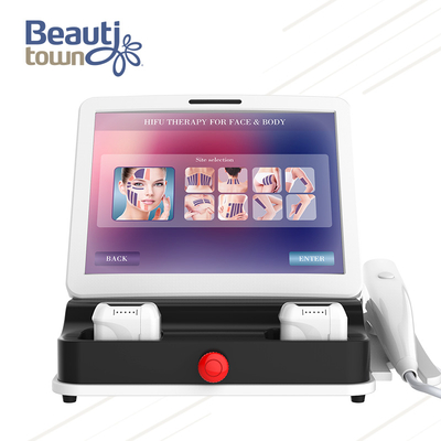 High Intensity Focused Ultrasound Hifu Beauty Equipment
