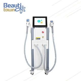 Diode Laser Hair Removal Machine Price with Two Handles