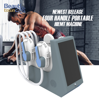 4 handle portable hiemt ems sculpt machine for sale great price high quality aesthetic equipment